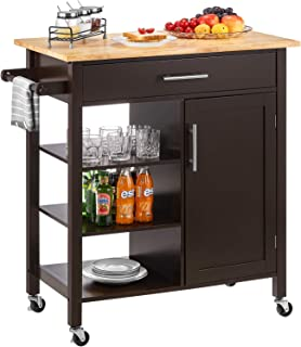 Best kitchen island with seating on wheels Reviews