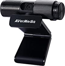 AVerMedia Live Streamer CAM 313: Full HD 1080P Streaming Webcam, Privacy Shutter, Dual Microphone, 360 Degree Swivel Desig...