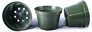 13 NEW 8 Inch Azalea Plastic Nursery Pots ~ Pots ARE 8 Inch Round At the Top and 5.6 Inch Deep.