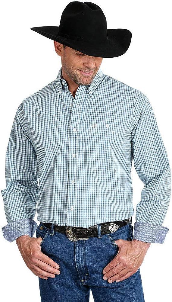 Wrangler Geroge Strait Durango Plaid Shirt