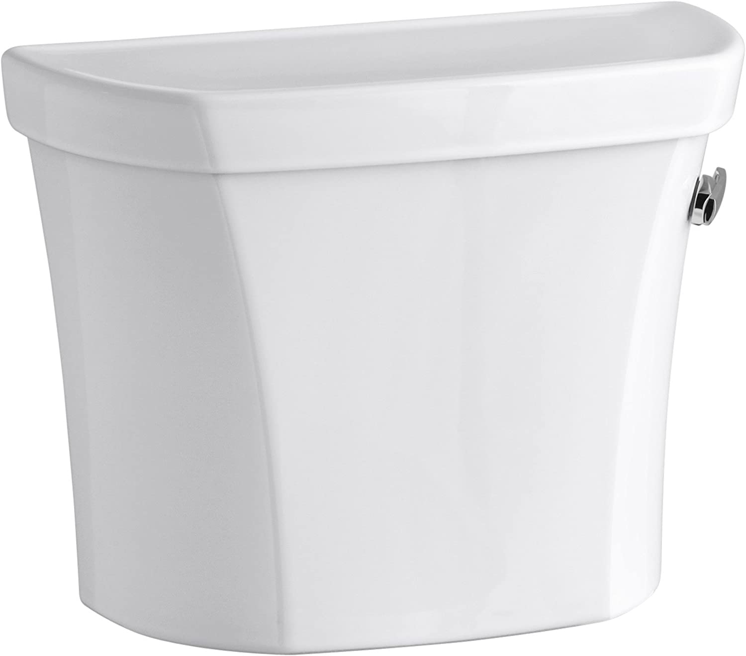 4 years warranty Wellworth 1.0 GPF Toilet Las Vegas Mall Tank Trip White Right-Hand Lever with