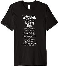 Warning I suffer from Fibromyalgia - Funny Fibro Saying Premium T-Shirt