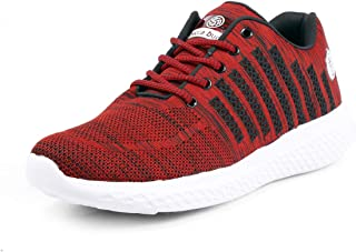 Bacca Bucci® Men's Running Shoes Lightweight Shockproof Walking Shoes Cushioning Men Sneakers for Gym Sports Casual Athletic Outdoor (Size-UK-6 to UK-13)