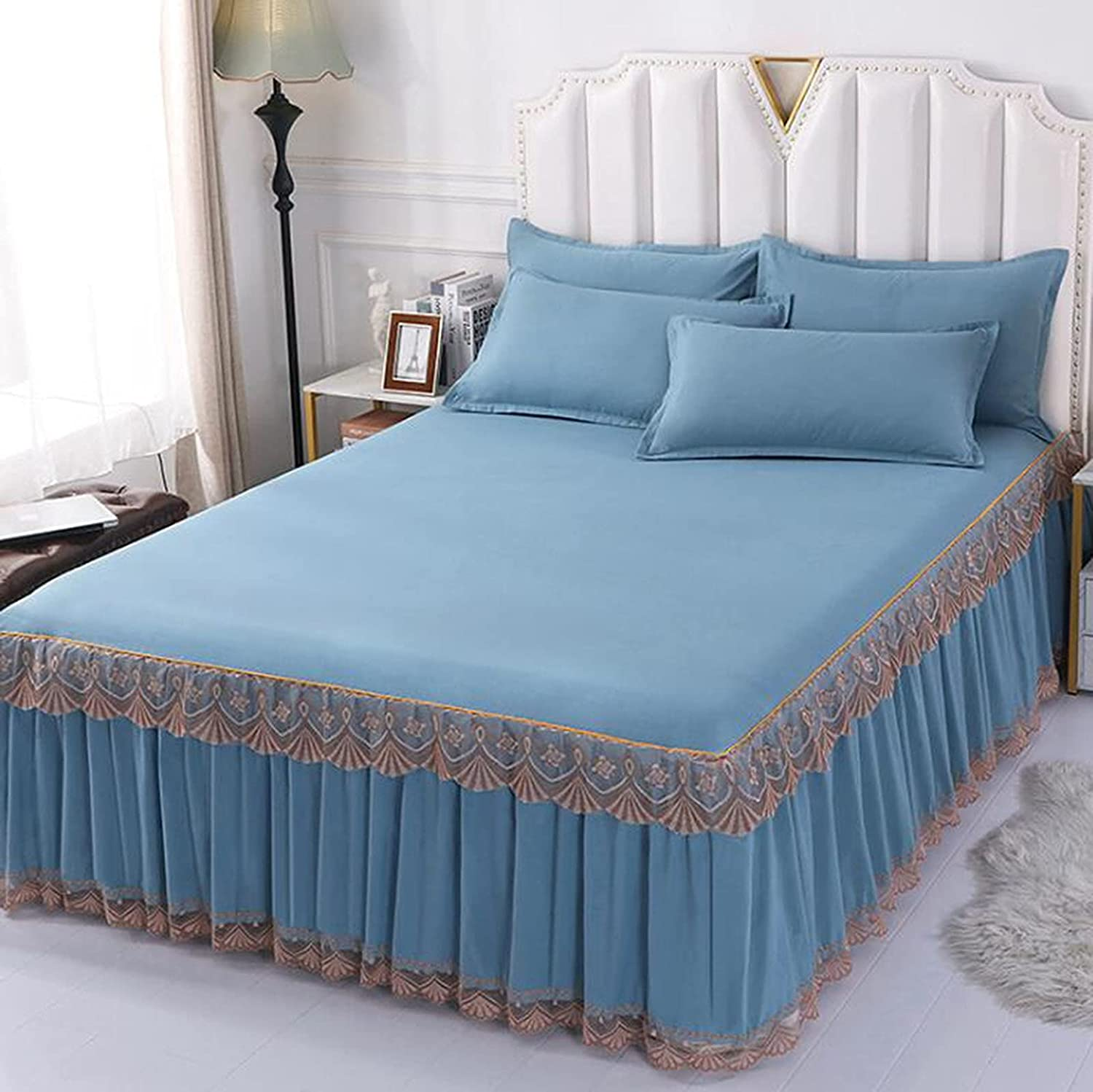 Simmons bedspread skin-friendly Max 57% OFF velvet single Translated lace bed princess