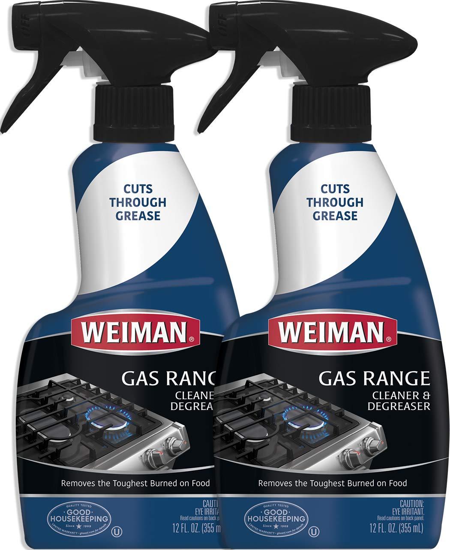 Weiman Range Cook Cleaner Degreaser