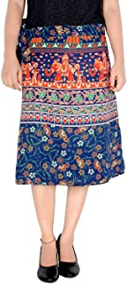 Rajvila Women Knee-Long Skirt