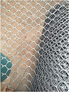 MLM slpw Plastic Garden Fence 1m X 10m Gray 5cm Hole Plastic Flat Net - Suitable for Plants, Pets, Vegetable Protection and Climbing Plant Support Net (Color : Hole 5cm, Size : Width 1mLength 8m)