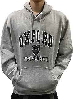 oxford university hoodie grey