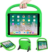 LEDNICEKER Kids Case for iPad 9.7 2018/2017 - Light Weight Shock Proof Handle Friendly Convertible Stand Kids Case for The Apple iPad 9.7 5th & 6th Generation Previous Model - Green