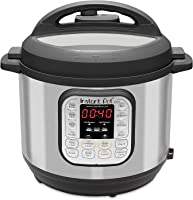 Instant Pot DUO 8, 7.6 L (8-Quart), 7-in-1 Multi-Use Electric Programmable Pressure Cooker, 14 smart programs, Stainless...