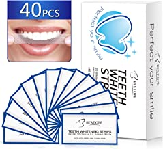Teeth Whitening Strips(40Pcs),BESTOPE Tooth Whitener Kit