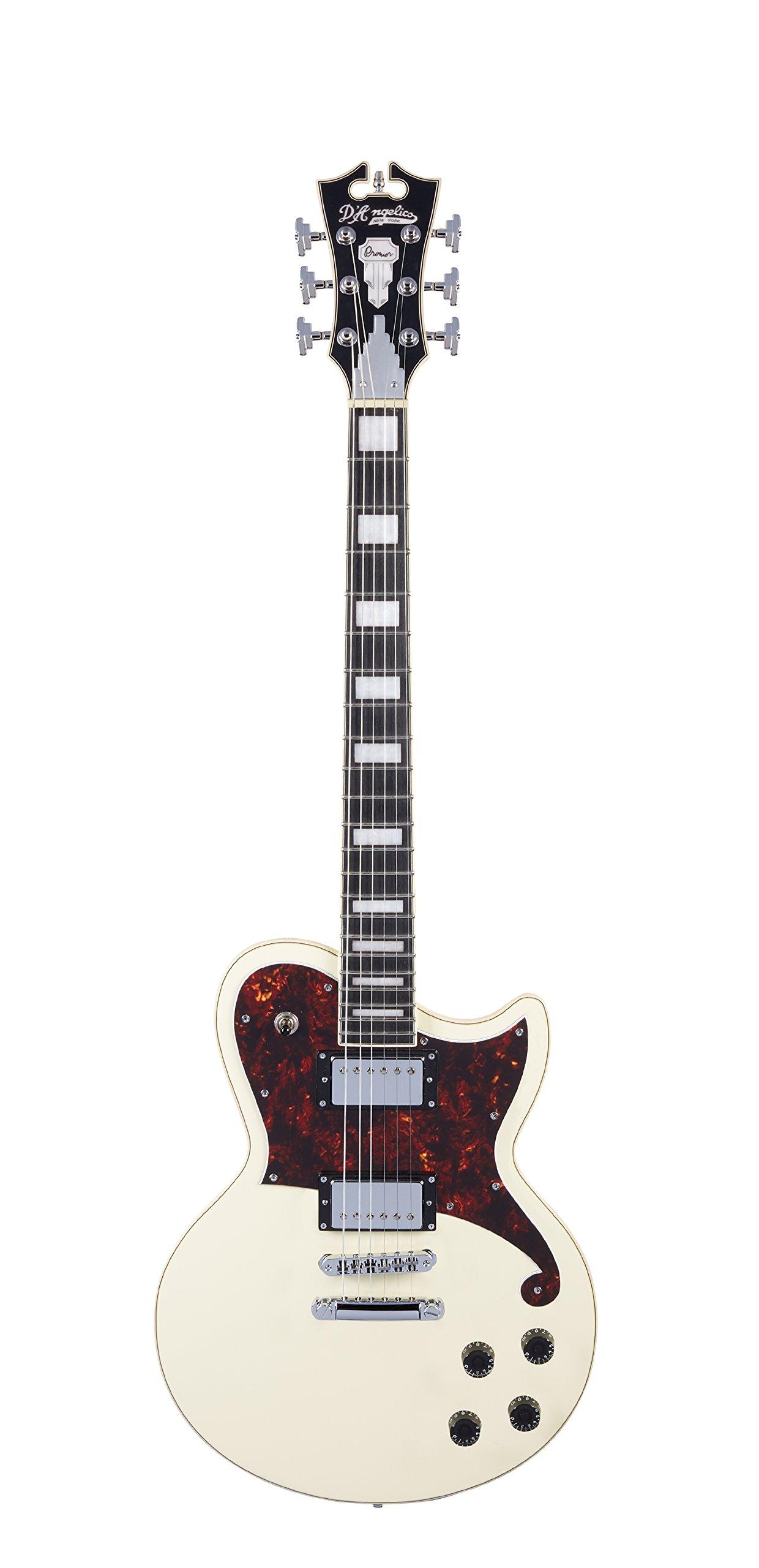 Cheap D Angelico Premier Atlantic Electric Guitar - Antique White Black Friday & Cyber Monday 2019