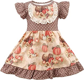 belababy Girl Boutique Clothing Set Christmas Long Sleeve Dress and Pants