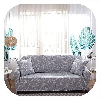 Peony red Stretch Elastic Sofa Cover Cotton Sofa Towel Slip-Resistant Sofa Covers for Living Room 1/2/3/4 Seater funda Sofa,colour20,2pc Cushion Cover