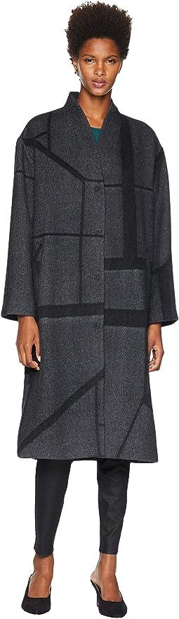 Alpaca Jacquard Coat