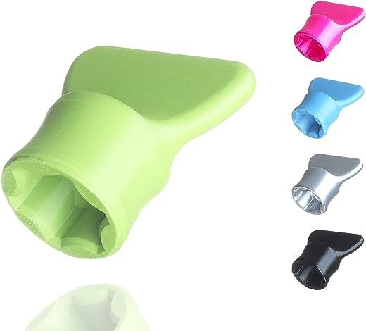 Teigblume – Teiglöser Zubehör für Vorwerk Thermomix Küchenmaschine TM5 + TM6 (Grün)