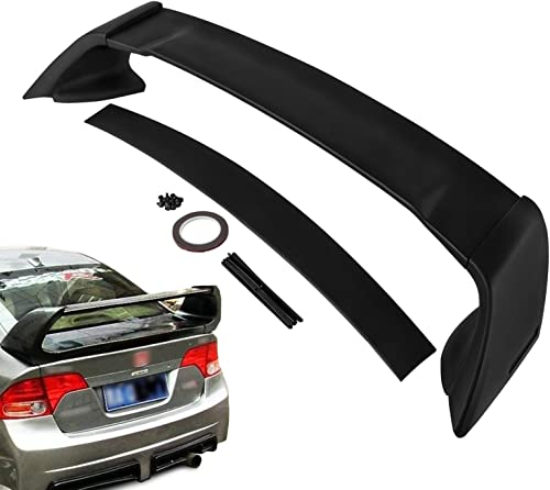 wholesale Mophorn ABS Rear online sale Trunk 2021 Lip Wing Spoiler Fit for 2006-2011 Honda Civic 4-Door Sedan ABS FRP Rear Wing Spoiler MG Style Replacement Wing Lip Trunk Boot Rear Spoiler (for 2006-2011) outlet online sale
