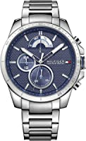 Tommy Hilfiger Mens Multi Dial Quartz Watch Decker with Stainless Steel Band