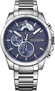 Tommy Hilfiger Men'S Navy Dial Stainless Steel Watch - 1791348