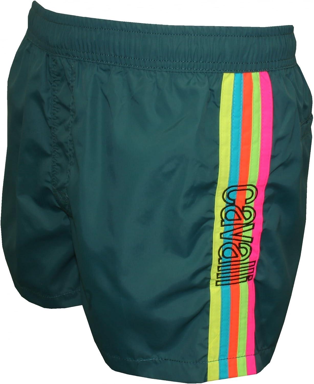 Just Just Just Cavalli Regenbogen Seite Streifen Herren Swim Shorts, Petrol Blau B06Y67YYV8  Guter Markt 8cb797