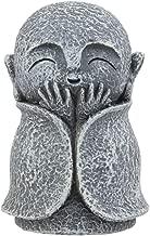 Ebros Japanese Happy Joyful Elated Jizo Monk Miniature Statue 3