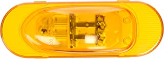 Grote 54183 Yellow SuperNova Oval LED Side Turn Marker Lights (Grommet Mount, Male Pin)