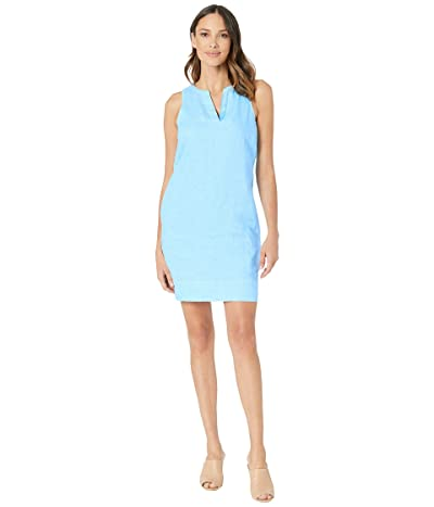 Tommy Bahama Seaglass Linen Shift Dress (Scandia Blue) Women