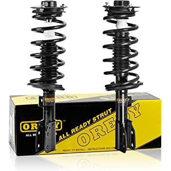Pair Front Quick Complete Struts /& Coil Spring Assemblies Compatible with 2004-2011 GMC Canyon RWD