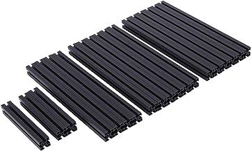Beada Geschikt voor Voron 0 1515 Aluminium Profiel Frame Beugel V0 Kleur Boren en Tikken Aluminium Profiel Kit, Zwart