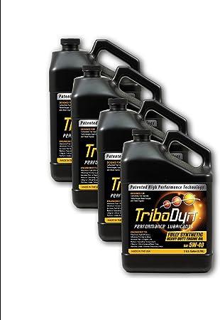 Amazon.com: TriboDyn 5W-40 Full Synthetic Fuel Saving Heavy Duty