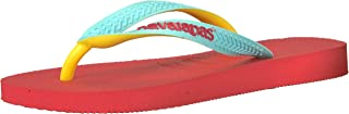 Havaianas Kid's Top Mix Flip Flop Sandal, Coral New, 9 M US Toddler