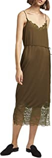 French Connection womens Women's Strappy Jersey Lace Dress Dress