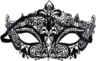 IMIKE Venetian Masquerade Ball Mask Halloween Mardi Gras Mask Gorgeous Party Masquerade Venetian Prom Ball Masks