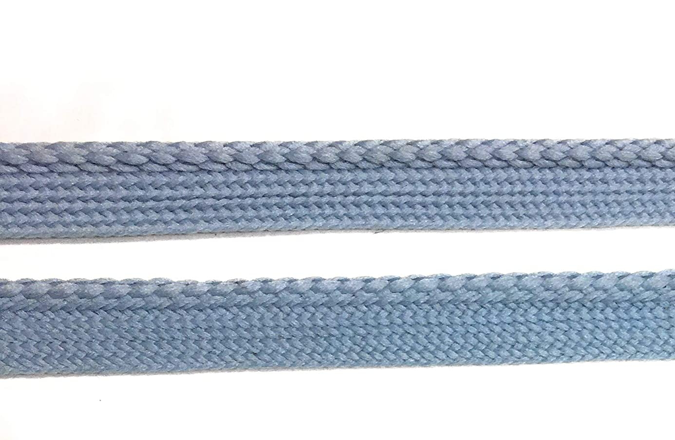 French Blue Piping,Smoked Blue Cord Edge Trim-Weaved for Clothing Pillows, Lamps, Draperies 5 Yards Pi-128 kew7334728