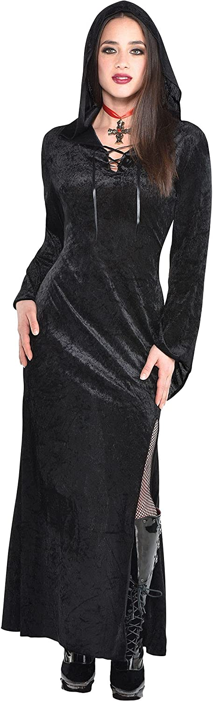Amscan Quality inspection 841192 Black Sorceress Costume Pi Max 55% OFF 1 Adult Medium Size