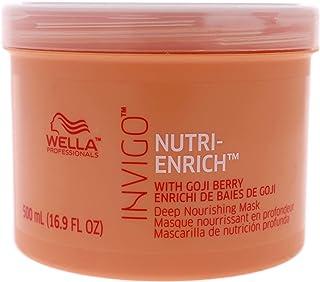 Wella Wella Invigo Nutri-Enrich Deep Nourishing Mask for Unisex 16.9 oz Masque, 500 ml