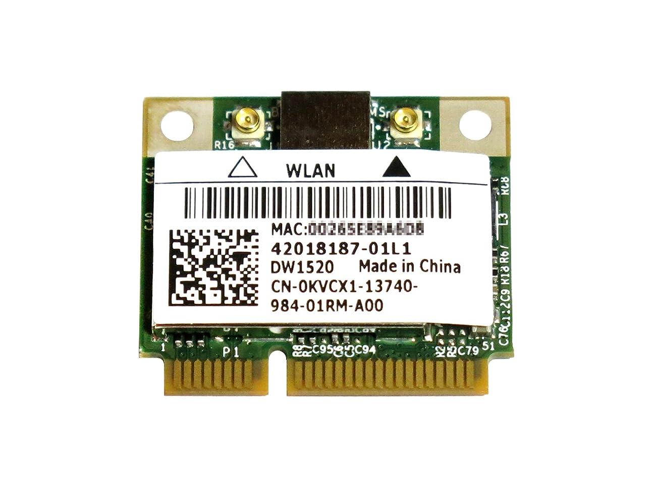 速記嫌がるネコDell Wireless WLAN 1520 DW1520 内蔵ワイヤレスLAN Half-Miniカード (300Mbps 802.11a/b/g/n対応) BCM943224HMS/BCM43224