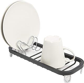 UMBRA Mini Sinkin black. Mini égouttoir à vaisselle Sinkin, à poser au fond de l'évier ou sur le comptoir. Noir