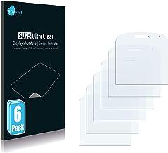 savvies Protector Pantalla Compatible con Rim Blackberry Bold Touch 9930 (6 Unidades) Pelicula Ultra Transparente