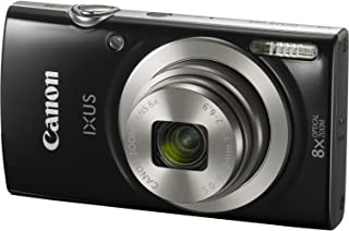 Canon IXUS 185 Digital Camera(IXUS185BK) 2.7 Inch display,Black (Australian warranty)