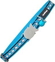 Red Dingo 12mm Reflective Turquoise Cat Collar, Small