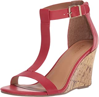 Best women's red wedge sandals Reviews