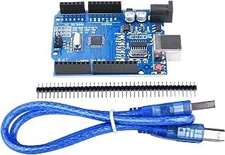 UNIROI R3 Board ATmega328P with USB Cable for Arduino - Compatible With ArduinoIDE R3 Mega 2560 Nano Robot AVR MCU Learner UA041