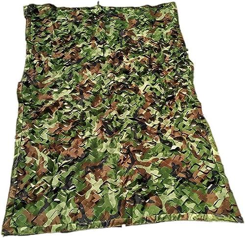 WJQSD bache Auvent de Prougeection Solaire pour Camping Camouflage extérieur Jungle Extérieur, Camping, Piscine, Jardinage (Couleur   Camouflage Couleur, Taille   10 x 10m)