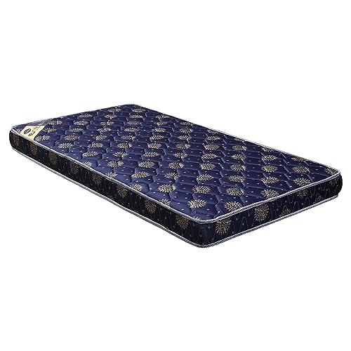 Euro Dreams Eurofit 4-inch Single Size Bonded Foam Mattress (Blue, 72x30x4)