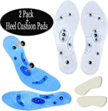 [2 Pairs] Magnetic Insoles + [Heel Sticker], Maypole Slimming Insoles to Assist Men and Women to Lose Weight, Reflexology [Acupuncture Insoles] [Relief Pain] [Relax Muscle]