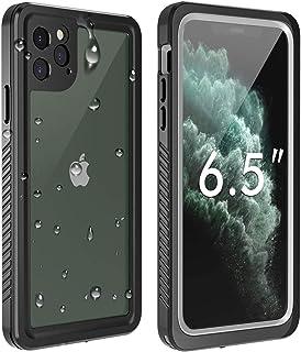 Temdan - Funda impermeable para iPhone 11 Pro Max, con protector de pantalla integrado, calidad de sonido, completamente s...