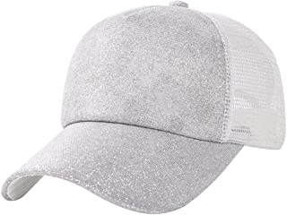 4627f36e13a wintefei Fashion Mesh Men Women Outdoor Casual Sun Hat Couple Snapback  Baseball Cap