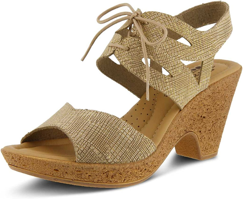 Spring Step Women's Gerberas Heeled Sandal,