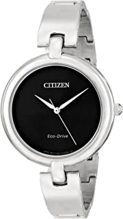 Citizen Women's EM0220-88E Silhouette Stainless Steel Eco Drive Watch